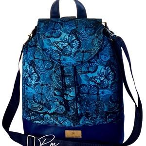 Pillangós vízálló �ANDI többfunkciós női táska/hátizsák zárófedéllel, Táska & Tok, Variálható táska, Varrás, Meska