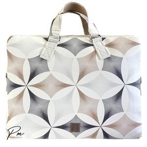 �élet virága mintás �EDIT laptop táska designer textilbőrből , Táska & Tok, Laptop & Tablettartó, Laptoptáska, Varrás, Meska