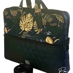 Arany pálmaleveles  �EDIT laptop táska  - Meska.hu