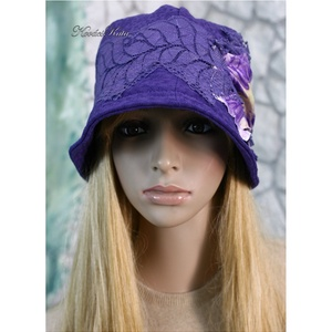 IBOLYA design-kalap (brokat) - Meska.hu