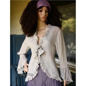 b29e0b3609 ... CILIKE - romantikus gézkabátka, Ruha, divat, cipő, Női ruha, Blúz,