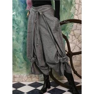 FLANEL - szárongnadrág - lagenlook fashion design  (brokat) - Meska.hu