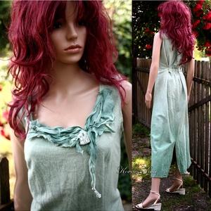 ARTSY SLIP / AKVARELLA - design-ruha - zöld - Meska.hu