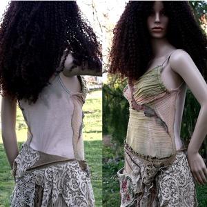 NIMFA top  -  art to wear :