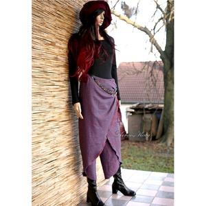PEPITA szárong-nadrág - lagenlook fashion design (brokat) - Meska.hu