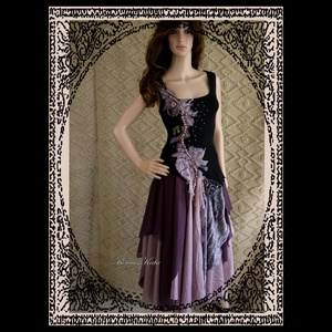 LYRA - design ruha  (brokat) - Meska.hu