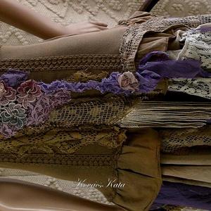 ZAZI - shabby chic art-design-ruha (brokat) - Meska.hu