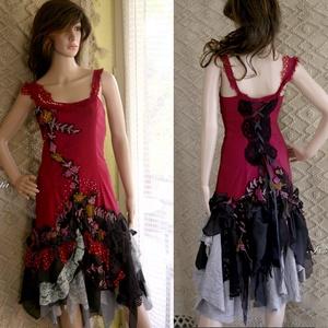 PAULINA - artsy design-ruha (brokat) - Meska.hu