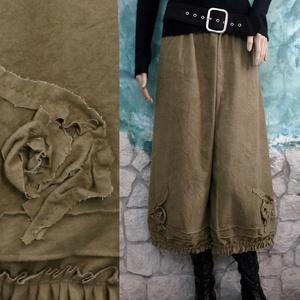 MÓNIKA - flanel-nadrág - lagenlook fashion design (brokat) - Meska.hu