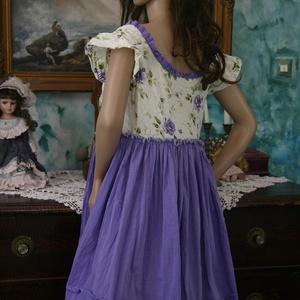 LILLA - baby-doll lagenlook ruha (brokat) - Meska.hu