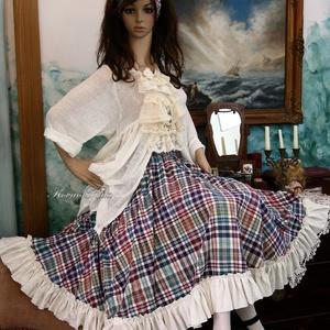 PANNI - körszoknya  Lolita-style fashion design (brokat) - Meska.hu
