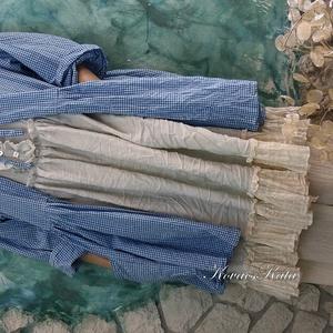 INGA - lagenlook kabátka  (brokat) - Meska.hu
