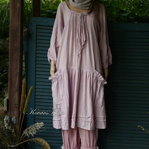 IBI - flapper-ruha XXL - lagenlook fashion design (brokat) - Meska.hu