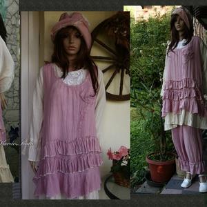 TEREZA tunika - Lagenlook  Fashion Design  (brokat) - Meska.hu