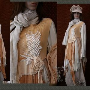 PÁLMÁS szett  -  artsy lagenlook fashion design (brokat) - Meska.hu