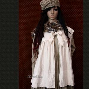 DESIREE - babydoll mellényke - lagenlook fashion design (brokat) - Meska.hu