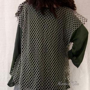 NECC-MELLÉNYES shabby chic géztunika   - ruha & divat - női ruha - tunika - Meska.hu