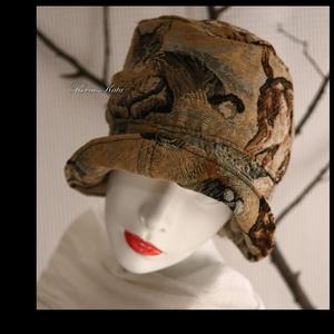 MACSKÁS FLAPPER kalap (brokat) - Meska.hu