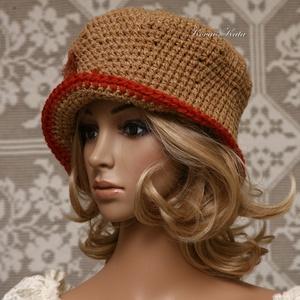 MARCIPÁN - horgolt kalap (brokat) - Meska.hu