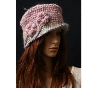 LISETTE - exkluzív flapper kalap (brokat) - Meska.hu