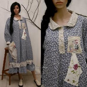 NEFELEJCS - lufi-ruha, design-ruha , Táska, Divat & Szépség, Női ruha, Ruha, divat, Ruha, Kismamaruha, Varrás, Foltberakás, Új kollekciómat nyomott mintás pamutvásznakból terveztem a hangulatos lezserség jegyében.\nBohém Nőkn..., Meska