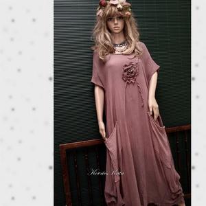 KIM / shabby chic design ruha XXL (brokat) - Meska.hu