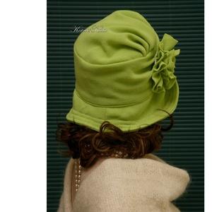 ERNA cloche - extravagáns flapper kalap - ruha & divat - sál, sapka, kendő - kalap - Meska.hu