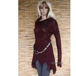 AVANTGARD tunika - extravagáns pulóver-ruha (brokat) - Meska.hu