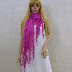 PIXY nimfa-stóla : forró-pink gézsál (brokat) - Meska.hu