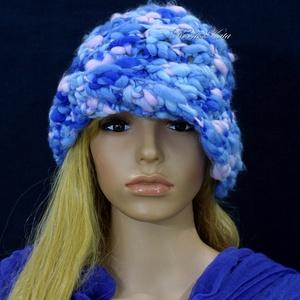 DUCI - exkluzív horgolt design-kalap (brokat) - Meska.hu