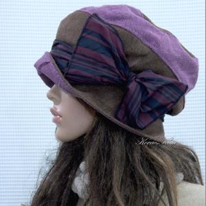 BERTA / rustic - kézműves kalap  (brokat) - Meska.hu