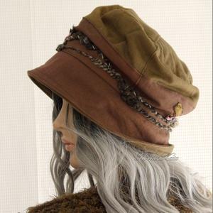 BERTA / fonalas - bohém design kalap  - ruha & divat - sál, sapka, kendő - kalap - Meska.hu