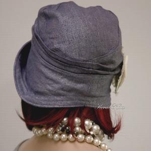 MALINKA cloche  -  flapper kalap (brokat) - Meska.hu