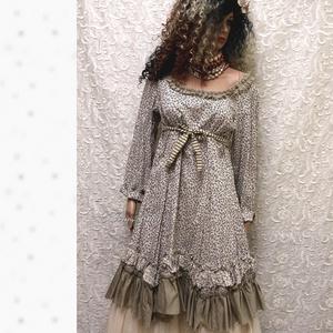 MIGNON - lolita ruha / virágocskás  - Meska.hu