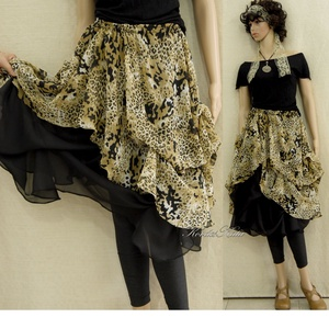 417351b69e ... MUSZLIN-SZOKNYA - Lolita-stílusban, Ruha, divat, cipő, Női ruha