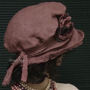 ANDREA - design-kalap mályva (brokat) - Meska.hu