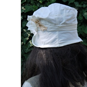 FREIA - romantikus nyári ripsz-kalap - Meska.hu