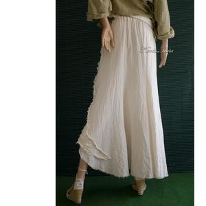 VIRNA - shabby chic patchwork-szoknya  - ruha & divat - női ruha - szoknya - Meska.hu