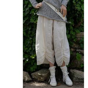 MOLLY-bugyogó - bohém design-nadrág, Táska, Divat & Szépség, Ruha, divat, Női ruha, Nadrág, Varrás, Vékony, könnyű, kreppes nyers szövetből  tervezett, bő szárú nadrág kényelmes, behúzott gumis derékk..., Meska