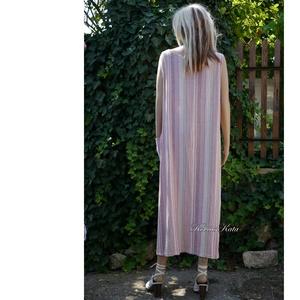 ETNO - LENVÁSZON RUHA - lagenlook design  - ruha & divat - női ruha - ruha - Meska.hu