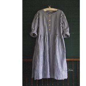 BABYDOLL-RUHA - lagenlook vászonruha - ruha & divat - női ruha - ruha - Meska.hu