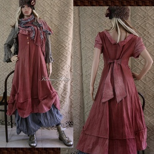 HANGA - shabby chic design-ruha  (brokat) - Meska.hu
