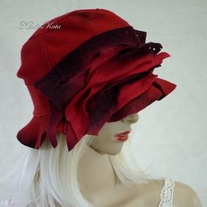 DELIGHT - artsy filc kalap (brokat) - Meska.hu