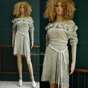 A R T S Y - R U H Á K ..............ZSENÍLIA - shabby chic design ruha (brokat) - Meska.hu