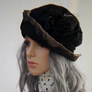 POLLY - artsy design kalap (brokat) - Meska.hu
