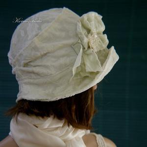 GRÉTI - brokát-mintás bársony design kalap (brokat) - Meska.hu
