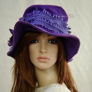 ÍRISZ - bohém design kalap (brokat) - Meska.hu