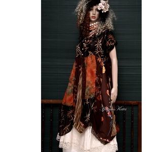ELIZA - patchwork design-ruha , Ruha, Női ruha, Ruha & Divat, Varrás, Patchwork, foltvarrás, A művészi vintage stílus szerelmeseinek ajánlom e kollekcióm aprólékos munkával és sok-sok szeretett..., Meska