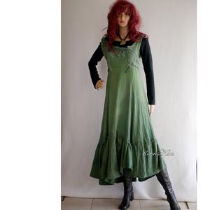 FIONNA ruha - romantikus artsy design hosszú-ruha (brokat) - Meska.hu