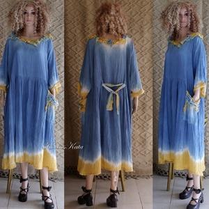 CAMILA - artsy lagenlook flapper-ruha  - ruha & divat - női ruha - ruha - Meska.hu